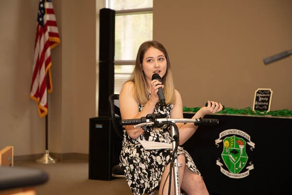 Motlow student gives speech for honors program