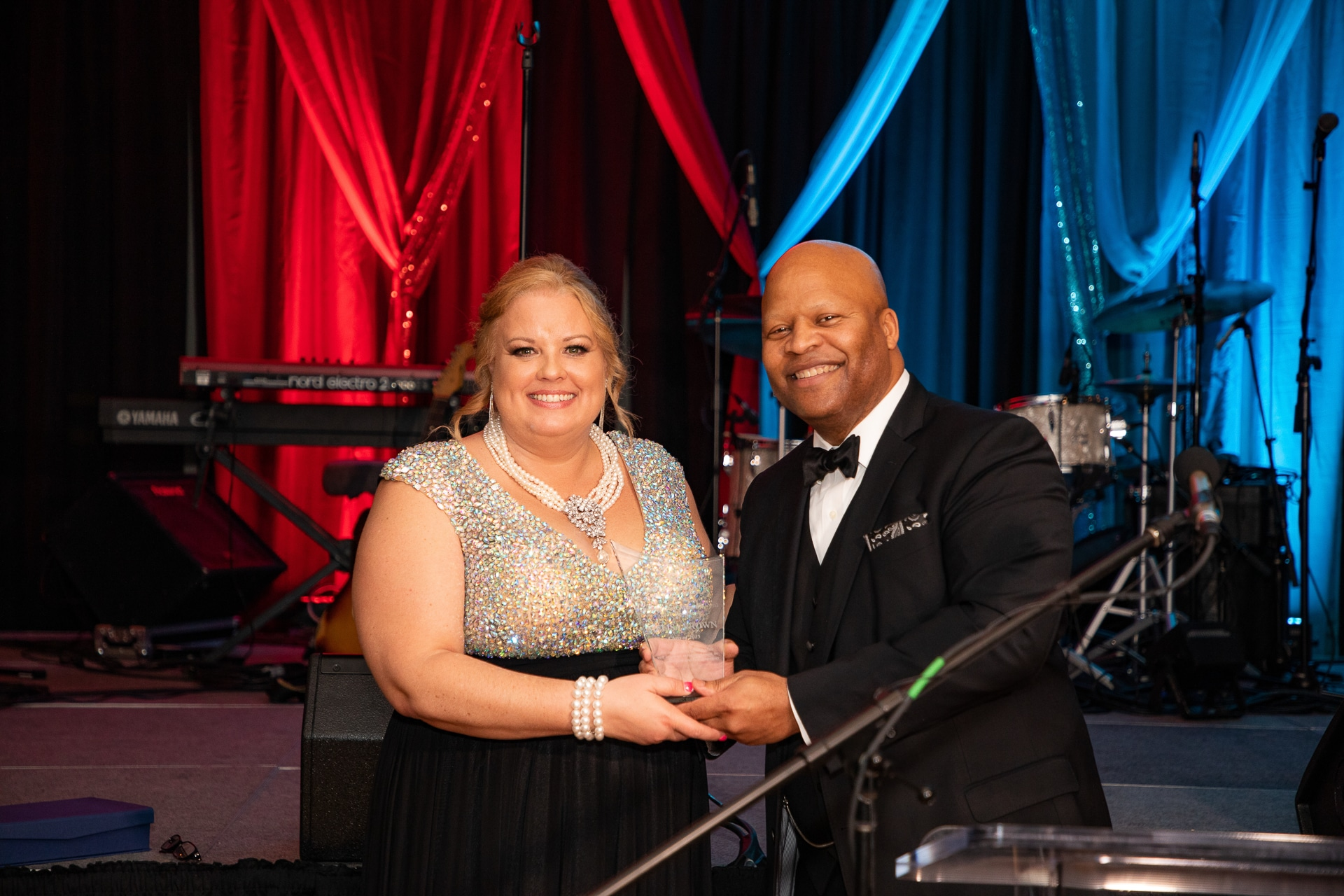 La Vergne Vice-Mayor Melisa Brown with Dr. Torrence