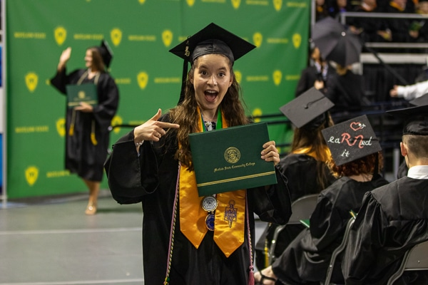 Motlow graduate excited to show off diploma