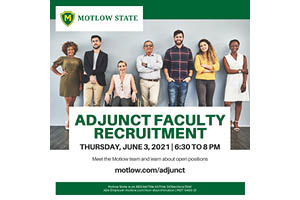 Virtual Adjunct Recruiting Event June 3