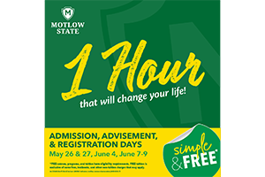 Admission, Advisement, and Registration Days on all Campuses