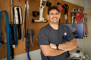 Physical Therapist Exemplifies Courage and Resiliency Despite Brain Injury