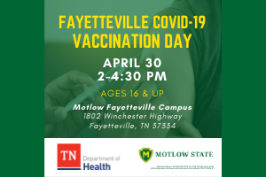 Fayetteville COVID-19 Vaccination Day