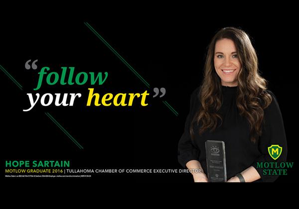 Hope Sartain: Follow Your Heart