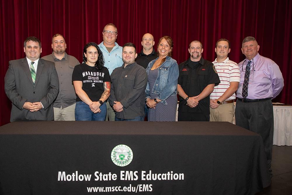 EMS Graduates 2 Classes of Paramedics